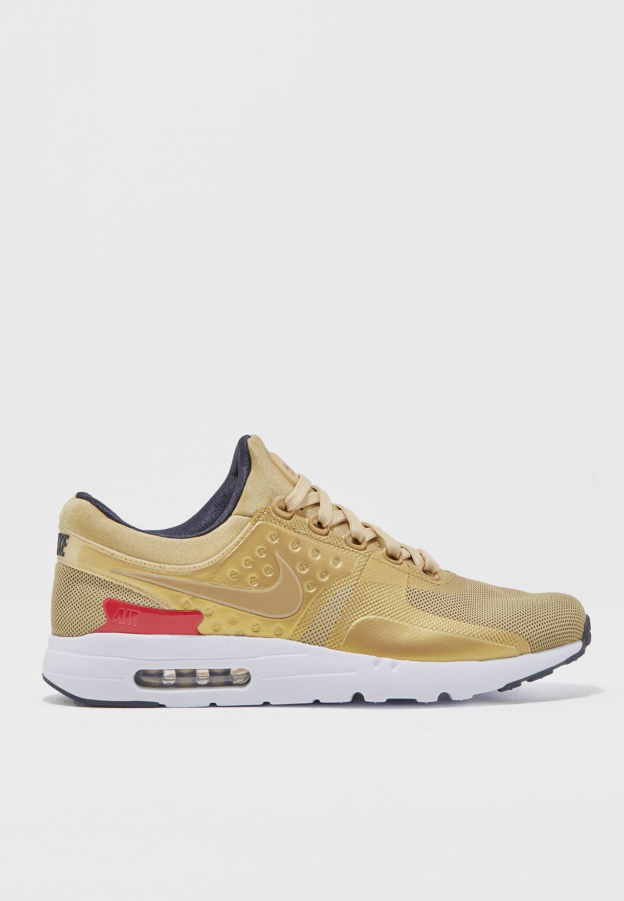 Shop Nike gold Air Max Zero QS 789695-700 for Men in Kuwait - NI727SH97YNY 7de96ee60