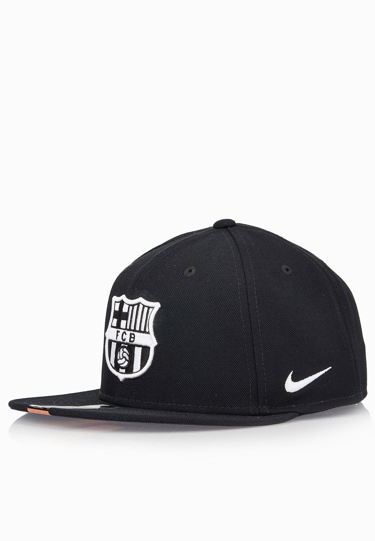 ae7ea464cbd Shop Nike black FCB Seasonal True Cap 805278-010 for Men in Kuwait -  NI727AC97UUC