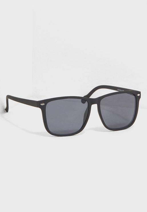 Large Wayfarer Sunglasses