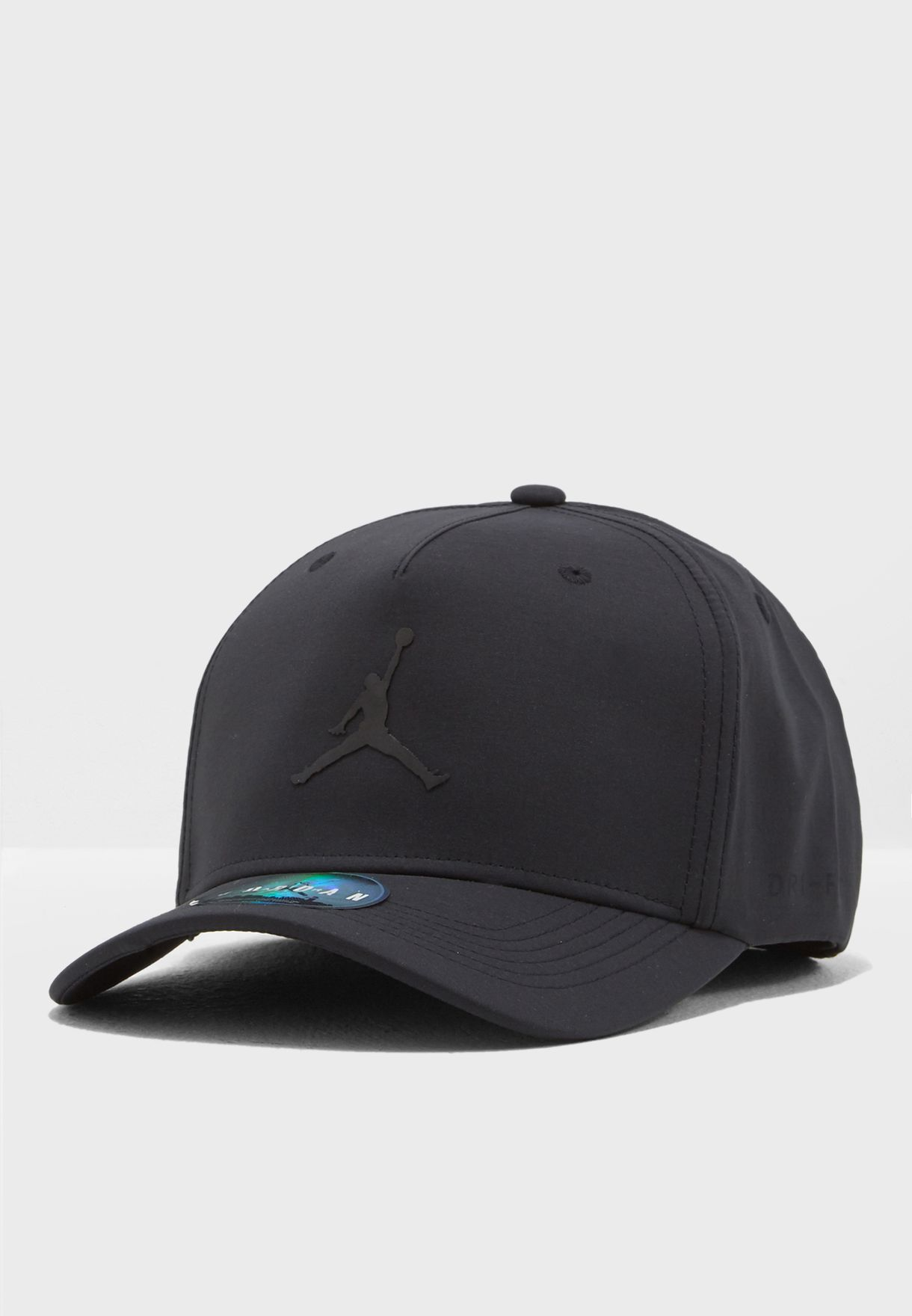 9833bca5 Shop Nike black Jordan Jumpman Classic 99 Cap 897559-010 for Men in ...
