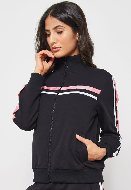 Stripe Detailed Jacket