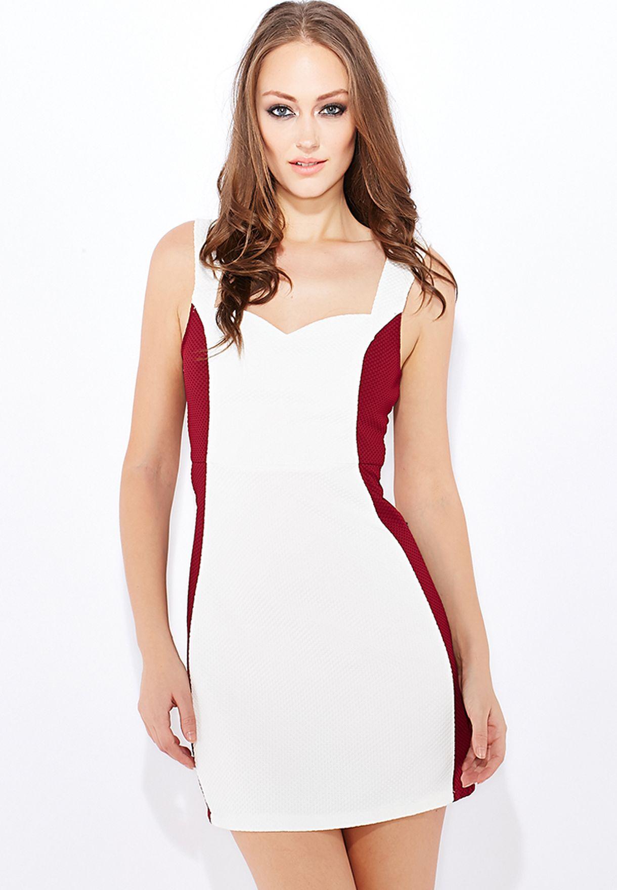 a5fb6d131 تسوق فستان قصير وضيق ماركة جينجر لون أبيض في السعودية - GI121AT97OVM