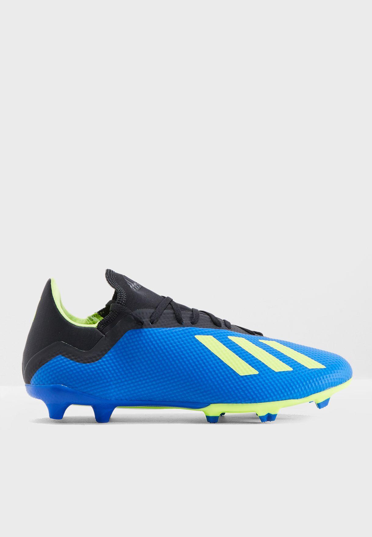 b0f60f88337a7 تسوق حذاء اكس 18.3 اف جي ماركة اديداس لون أزرق DA9335 في السعودية ...