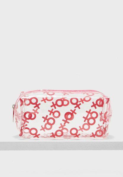 Cosmetic Bag - Female Symbol