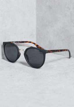 Bar Round Sunglasses