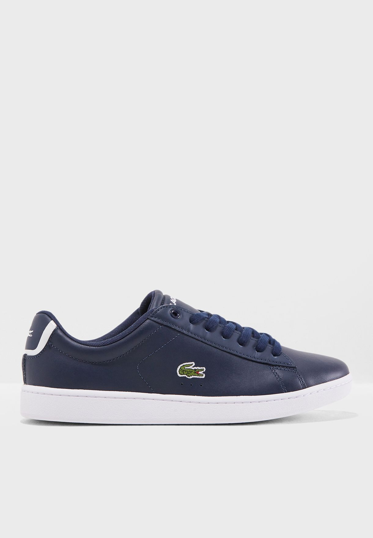 8fac430b461b Shop Lacoste navy Carnaby Evo Bl 1 Spw Sneaker 732SPW0132 for Women ...