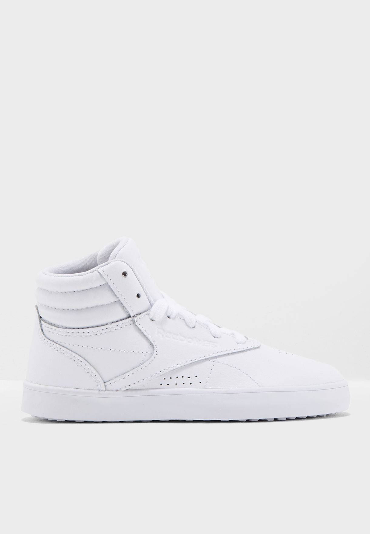 8d679254667 Shop Reebok white Kids Freestyle Hi Evo CN6315 for Kids in UAE ...
