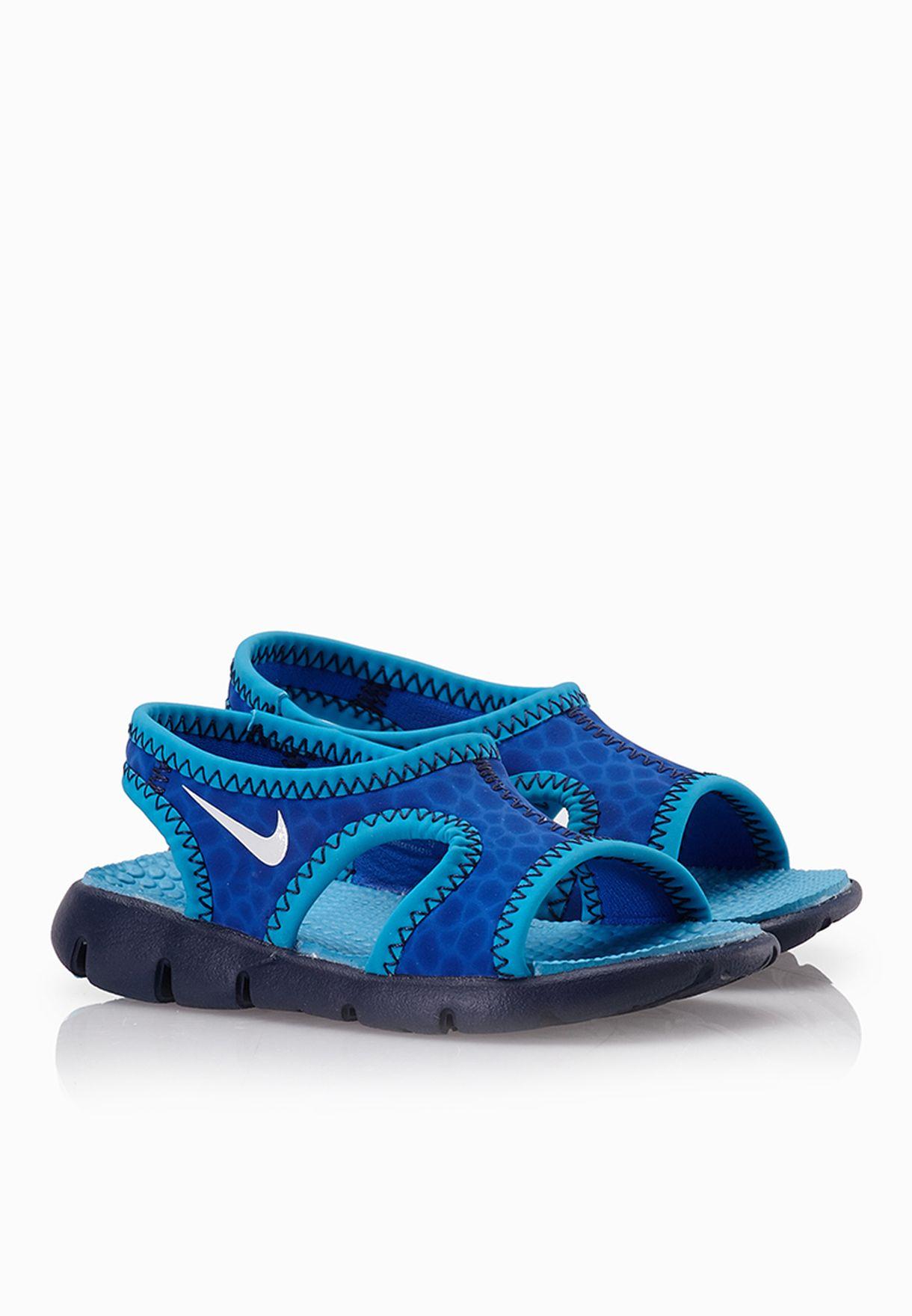 0e30322c055495 Shop Nike blue Sunray 9 Infant 344636-410 for Kids in UAE - NI727SH87WNW