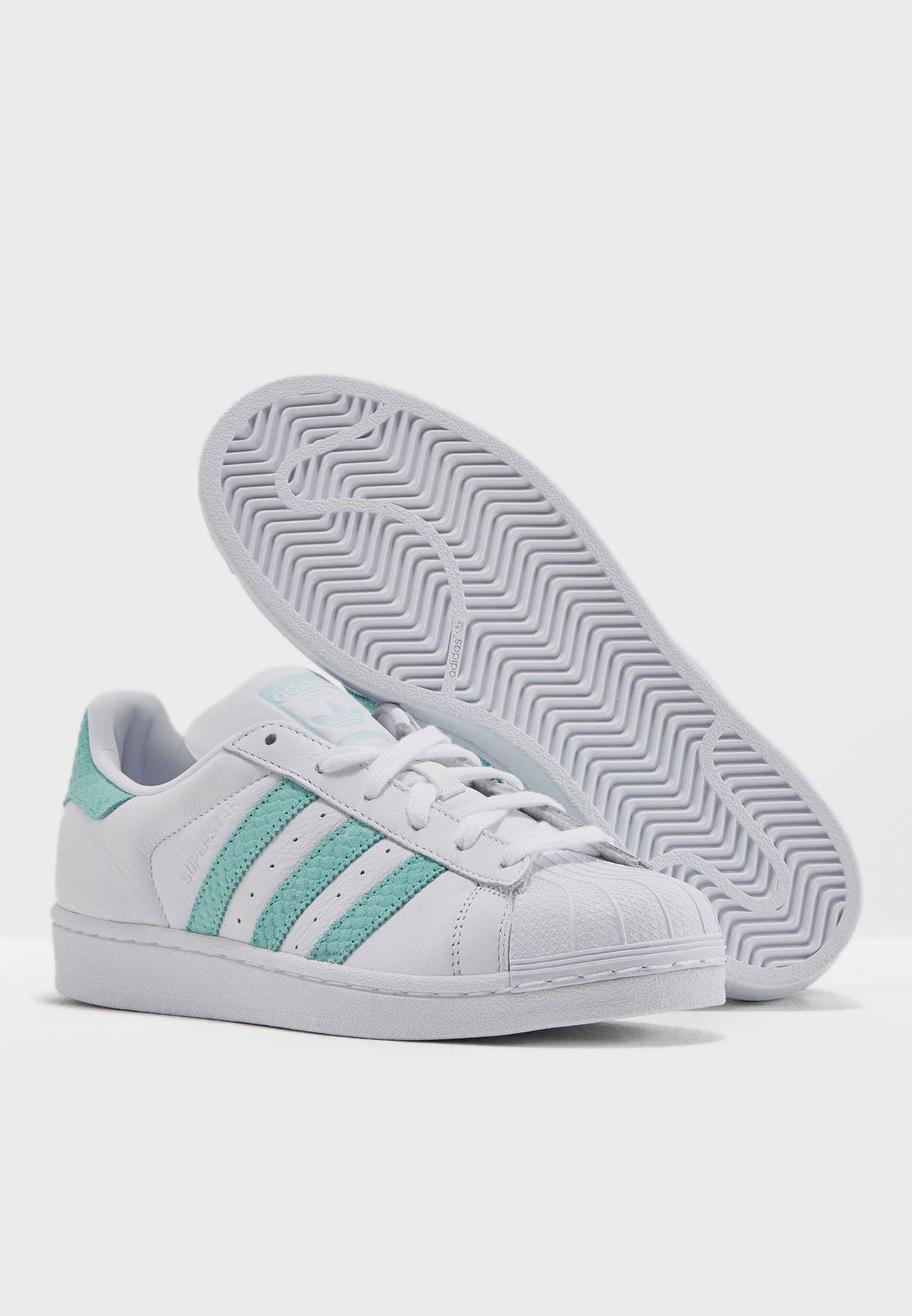 fb66a0bc0 تسوق حذاء سوبر ستار ماركة اديداس اورجينال لون أبيض CG5461 في ...