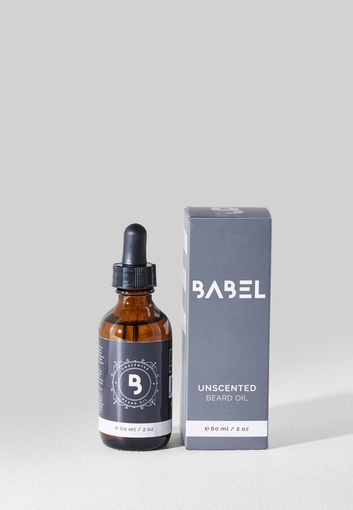 Unscented Beard Oil 60ml
