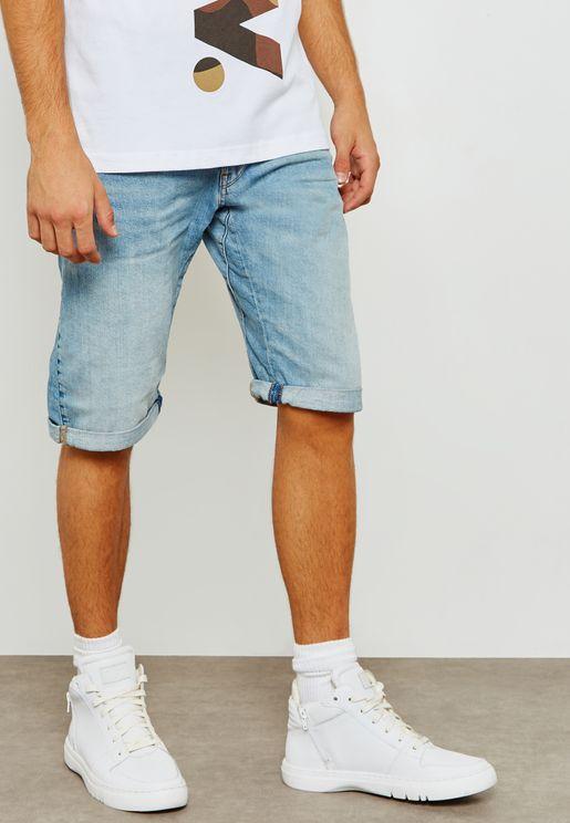 Arc Denim Shorts