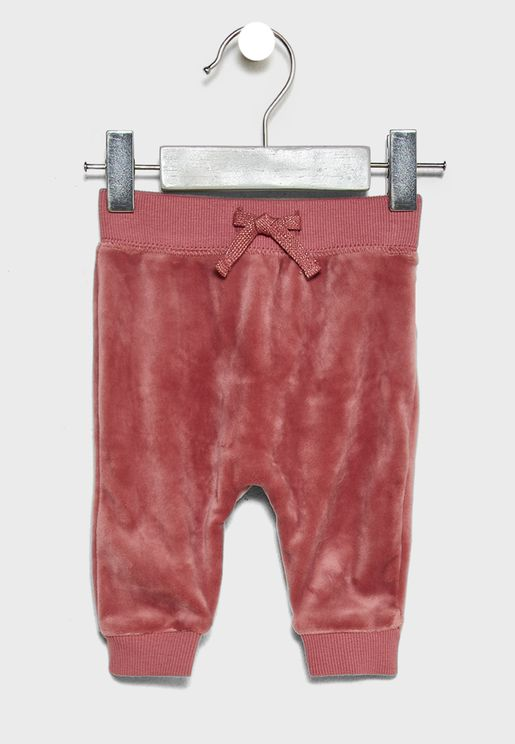 Infant Velour Sweatpants