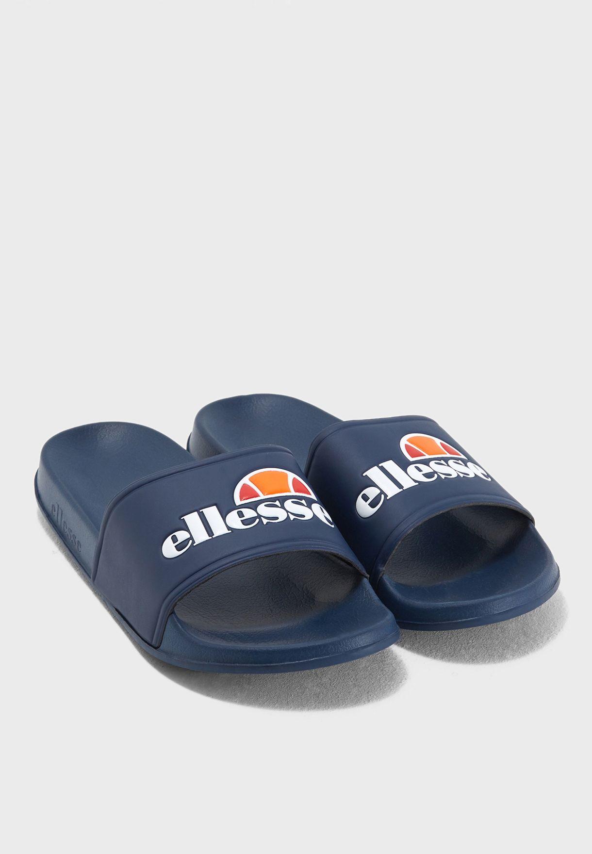 a268e7b49d95 Shop Ellesse navy Fillipo Slides SHFW0343 for Men in UAE - EL250SH87RYA