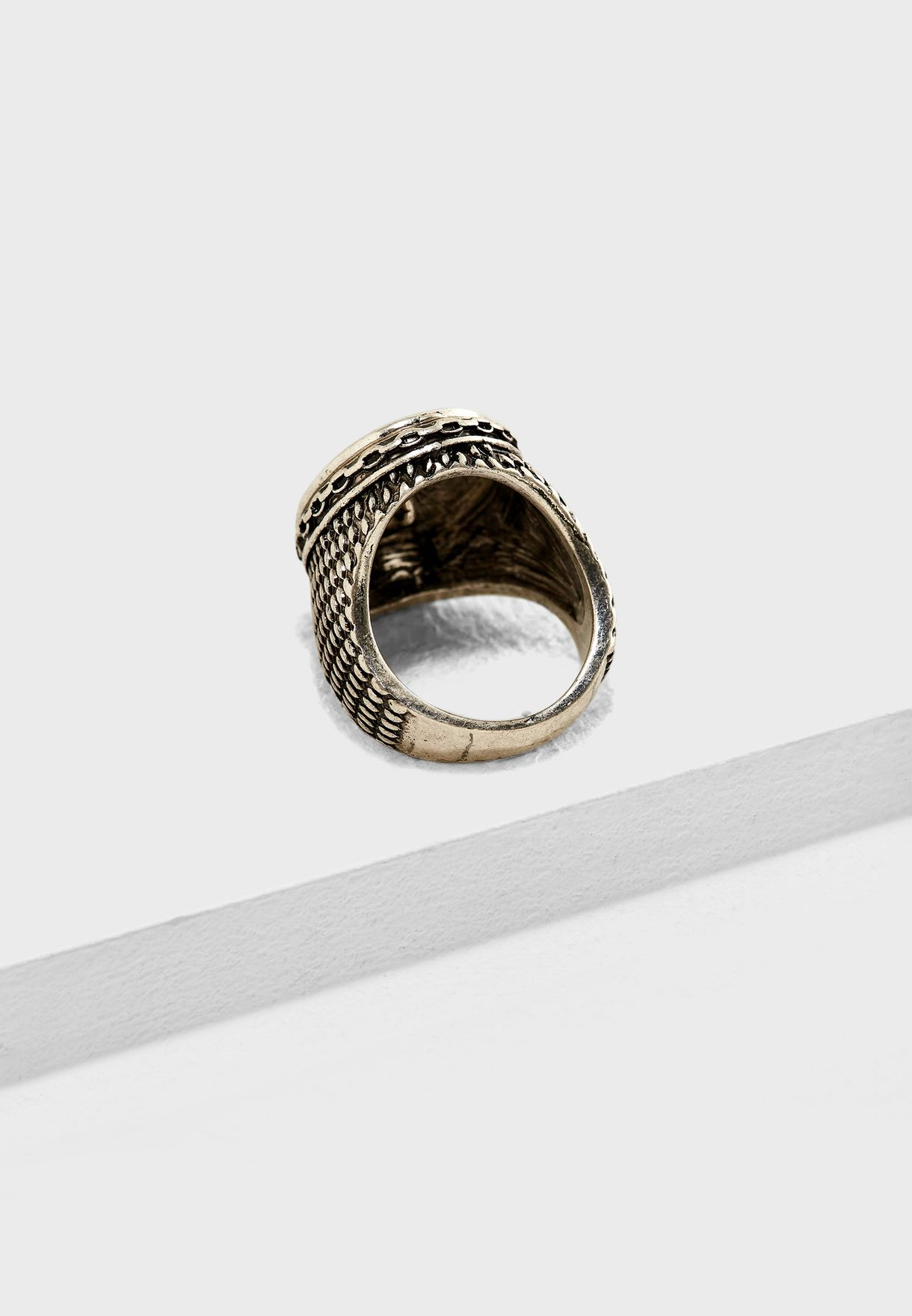 Oval Casual Ring