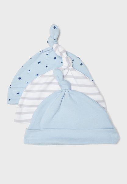Infant 3 Pack Hats Set