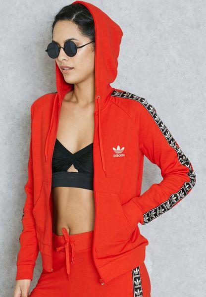 Ver adidas BJ8327 Originals Red Trefoil Mujeres Full Zip Hoodie Full BJ8327 para Mujeres 96d903d - hvorvikankobe.website