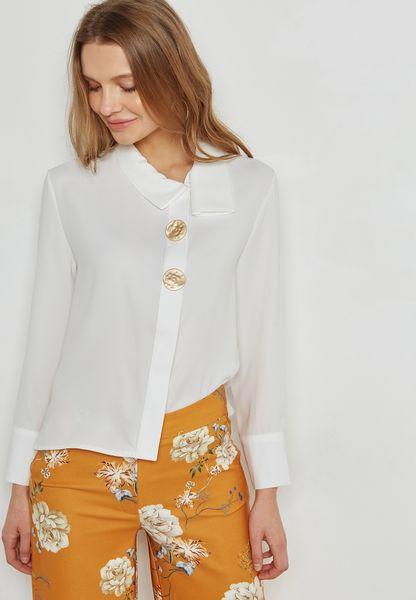 Detailed Button Shirt