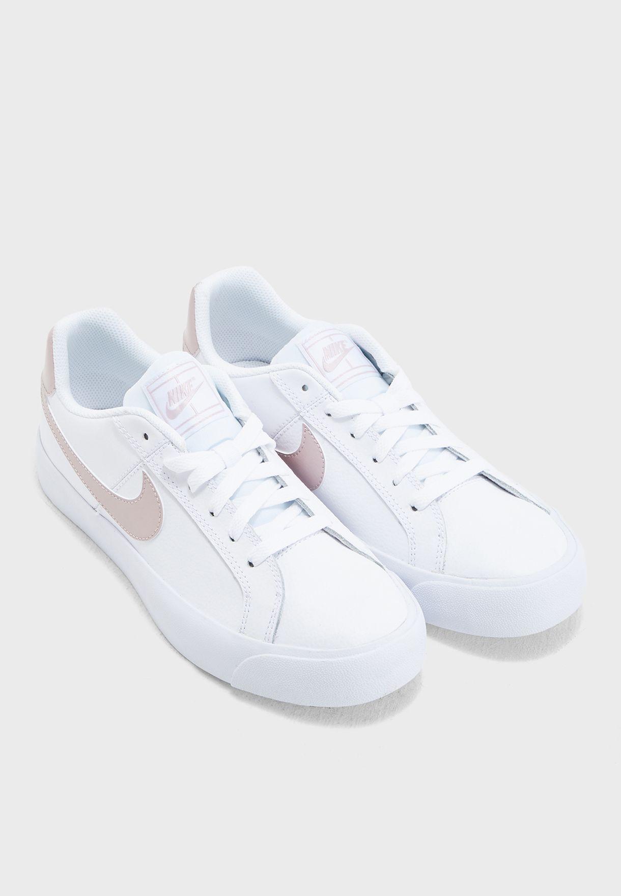 70d7cbb539535e Shop Nike white Court Royale AC AO2810-103 for Women in UAE ...