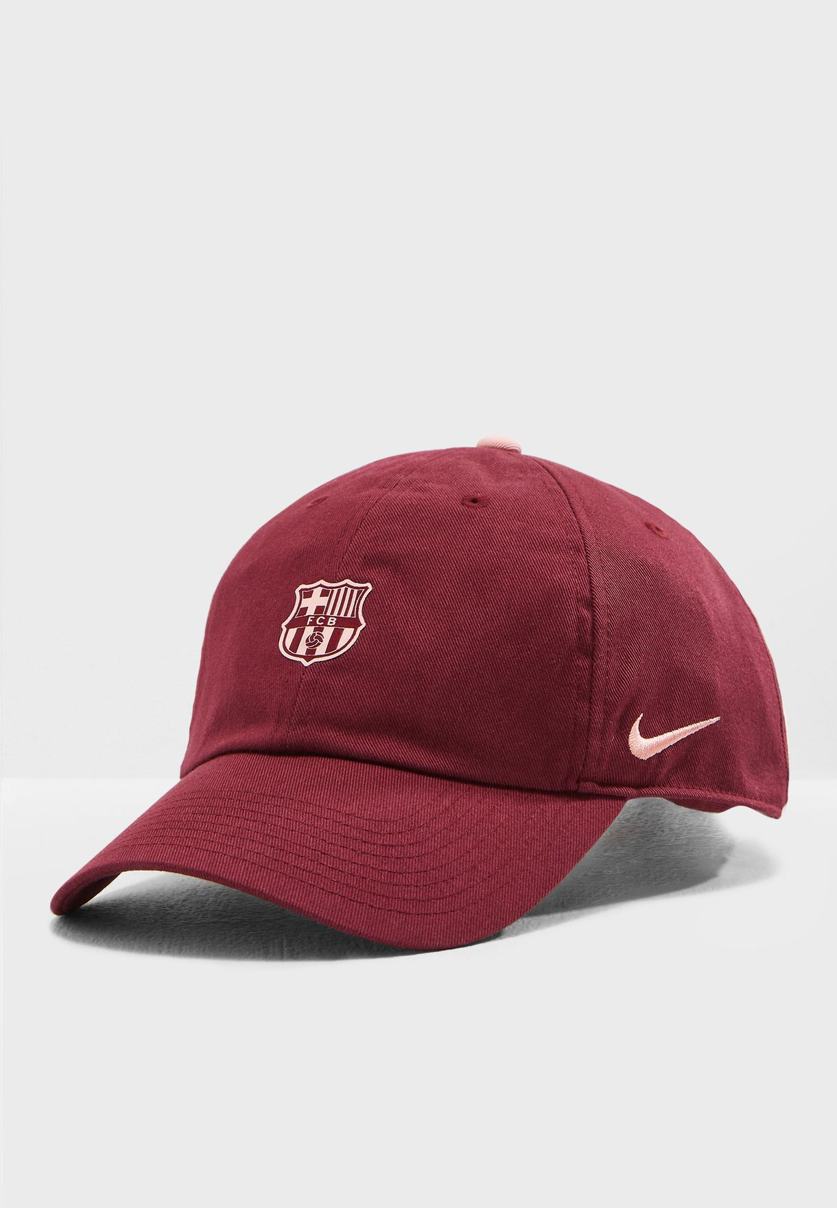 Shop Nike burgundy FC Barcelona Heritage 86 Core Cap 852167-669 for ... 9a3bdf70523f