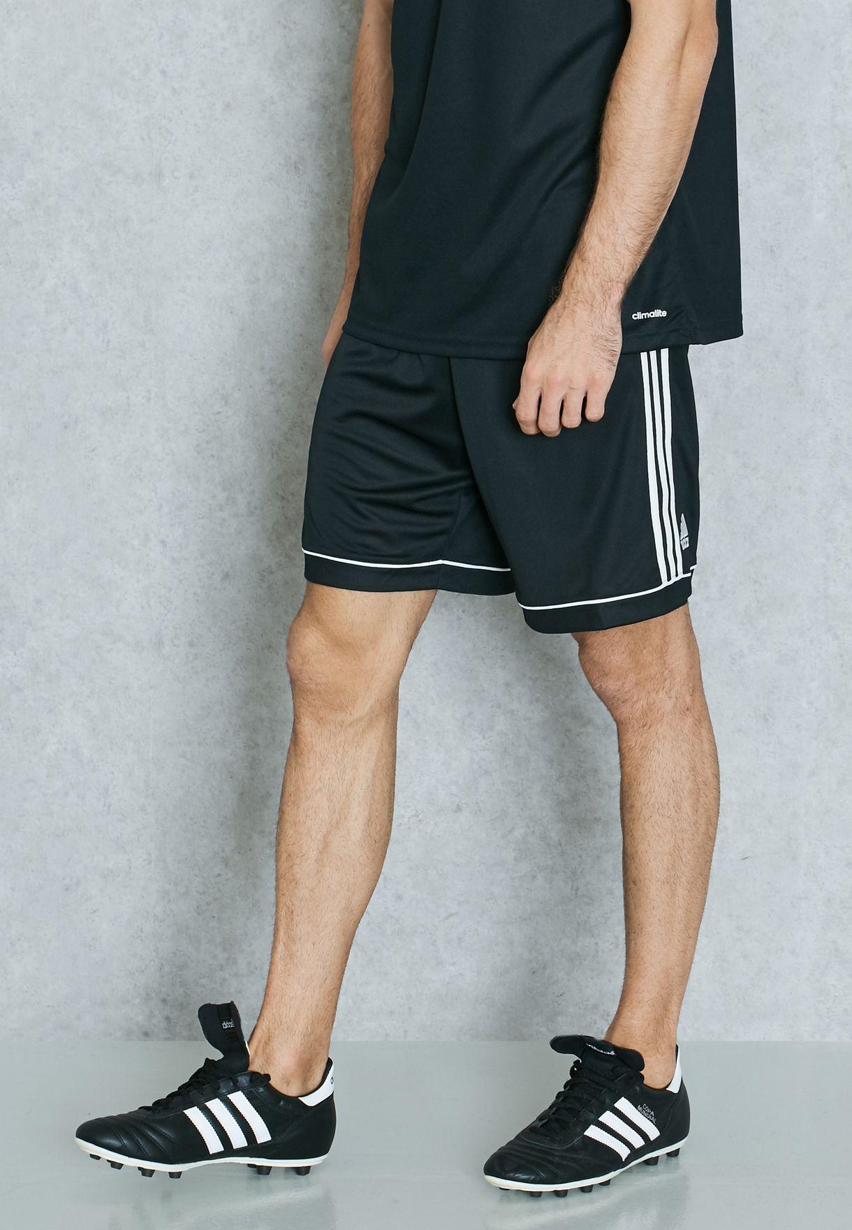 5ad23144bce Shop adidas black Squad Shorts BK4766 for Men in UAE - AD476AT87SYI