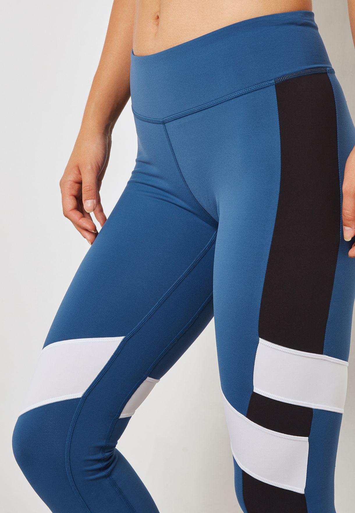Lux Colour Block Leggings