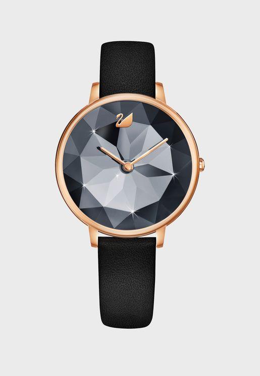 ساعة كريستال زفير (ياقوت ازرق)