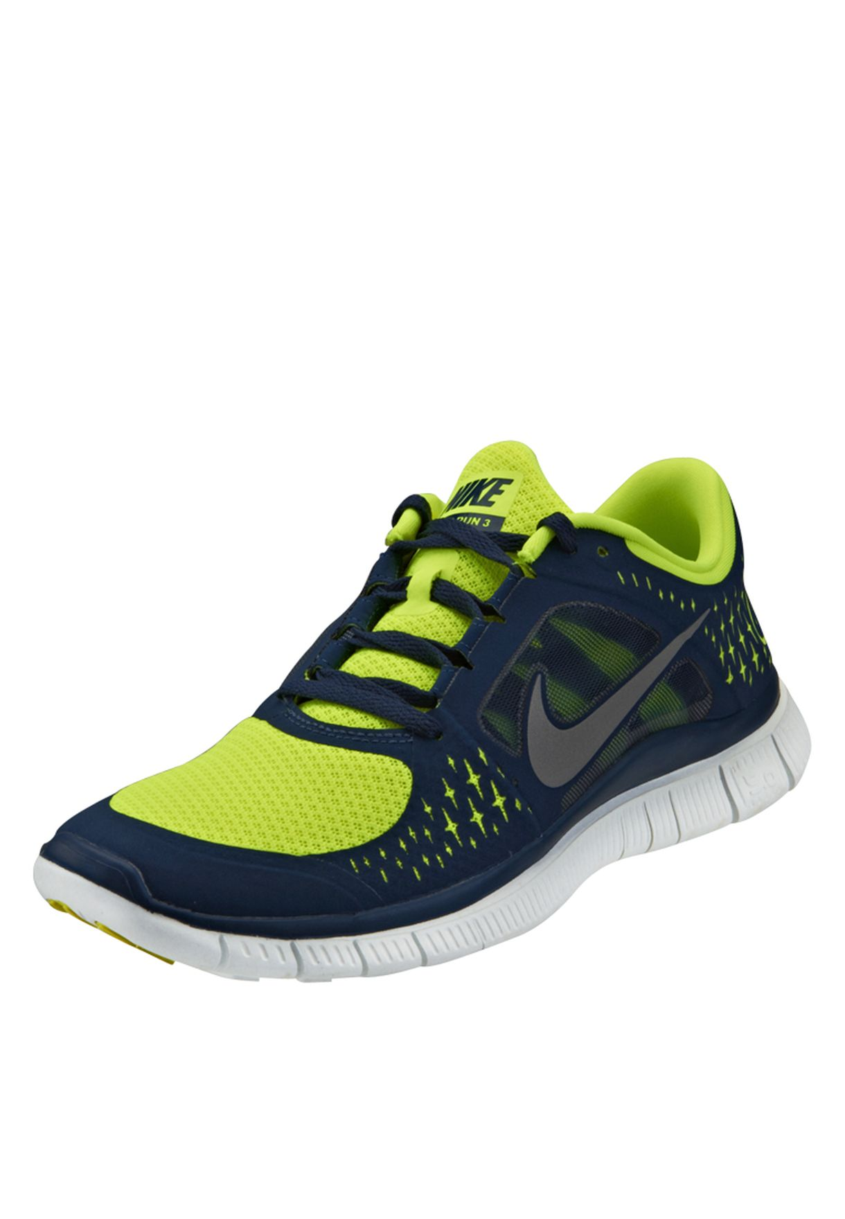 793f6182faad2 Shop Nike blue Nike Free Run Trainers 510642-704 for Men in Oman ...