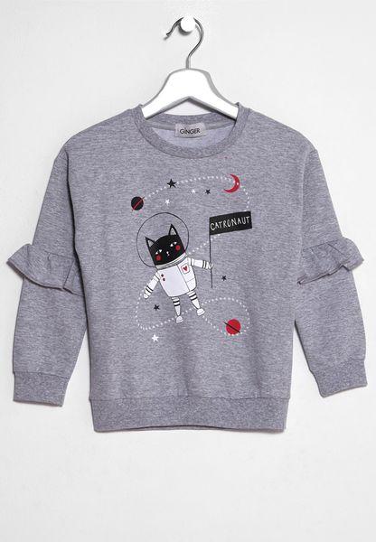 Little Printed Sweatshirt