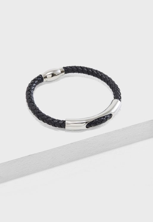Barbican Oval Cut Out Bracelet