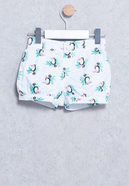 Infant Toucan Shorts
