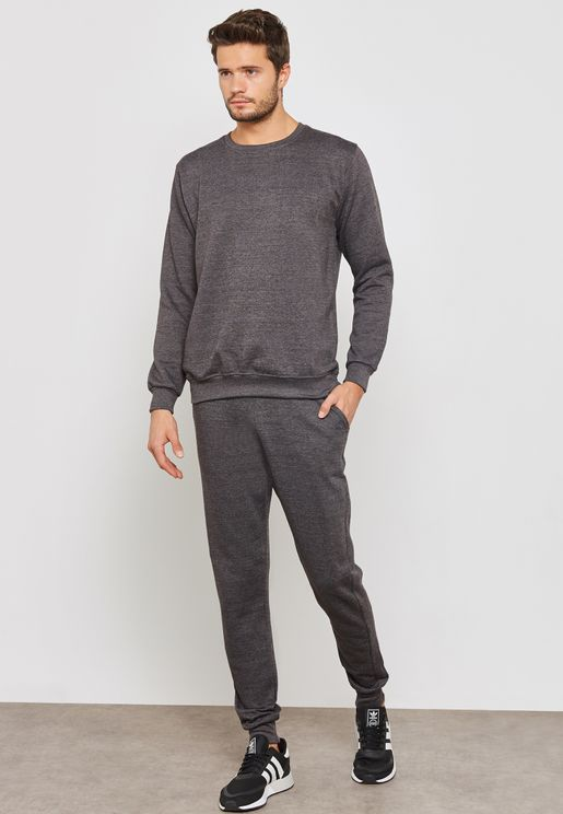 Basic Crew Neck Tracksuit