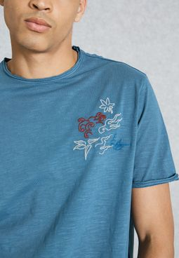 Scape Embroidery T-Shirt