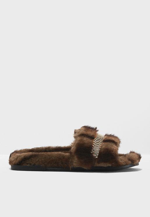 Shade Flat Sandals