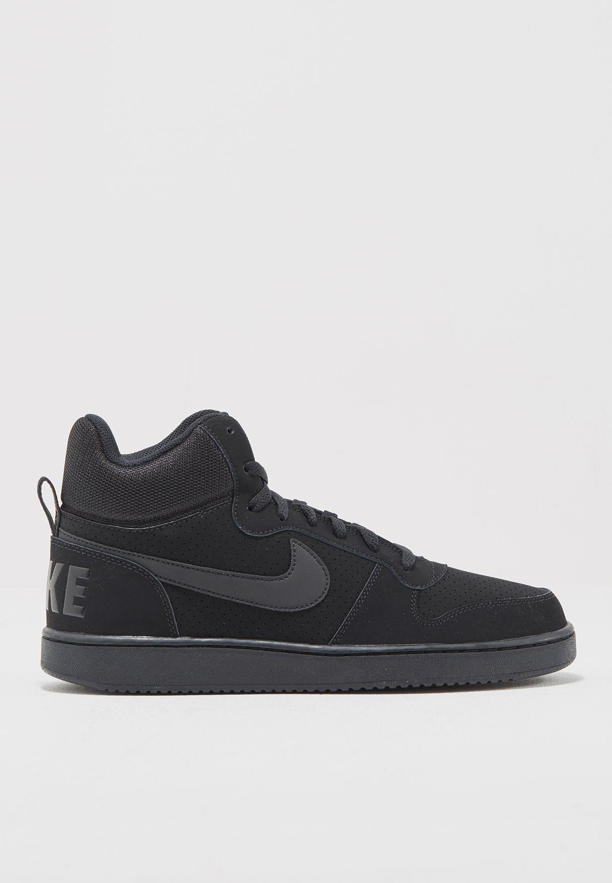39c09f248f7ff0 Shop Nike black Court Borough Mid 838938-003 for Men in UAE ...