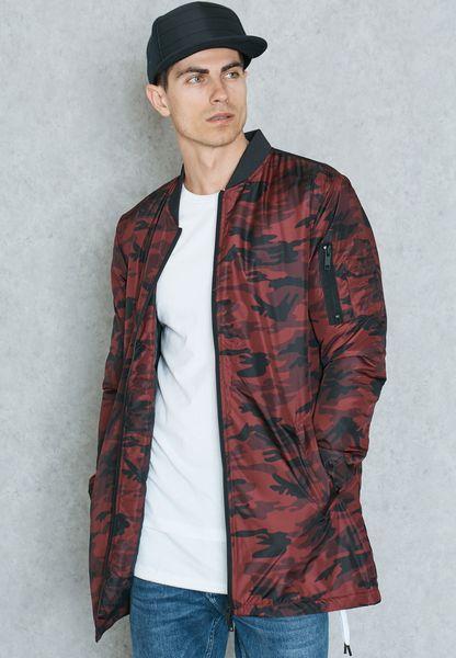 Camo Longline Jacket