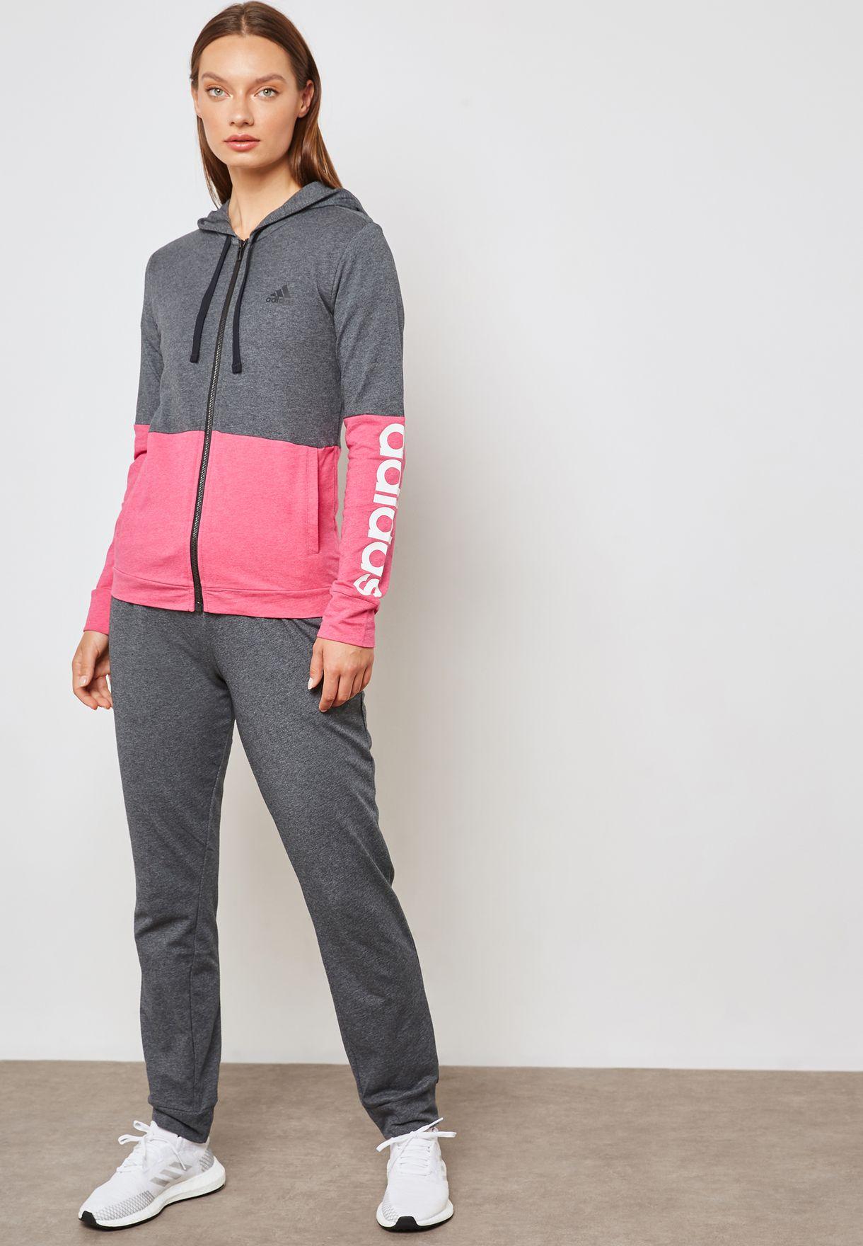 93d526d22 تسوق بدلة رياضية (جاكيت + بنطال) ماركة اديداس لون رمادي CZ2328 في ...