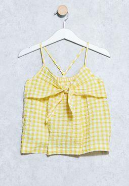 Kids Bow Peru Shirt