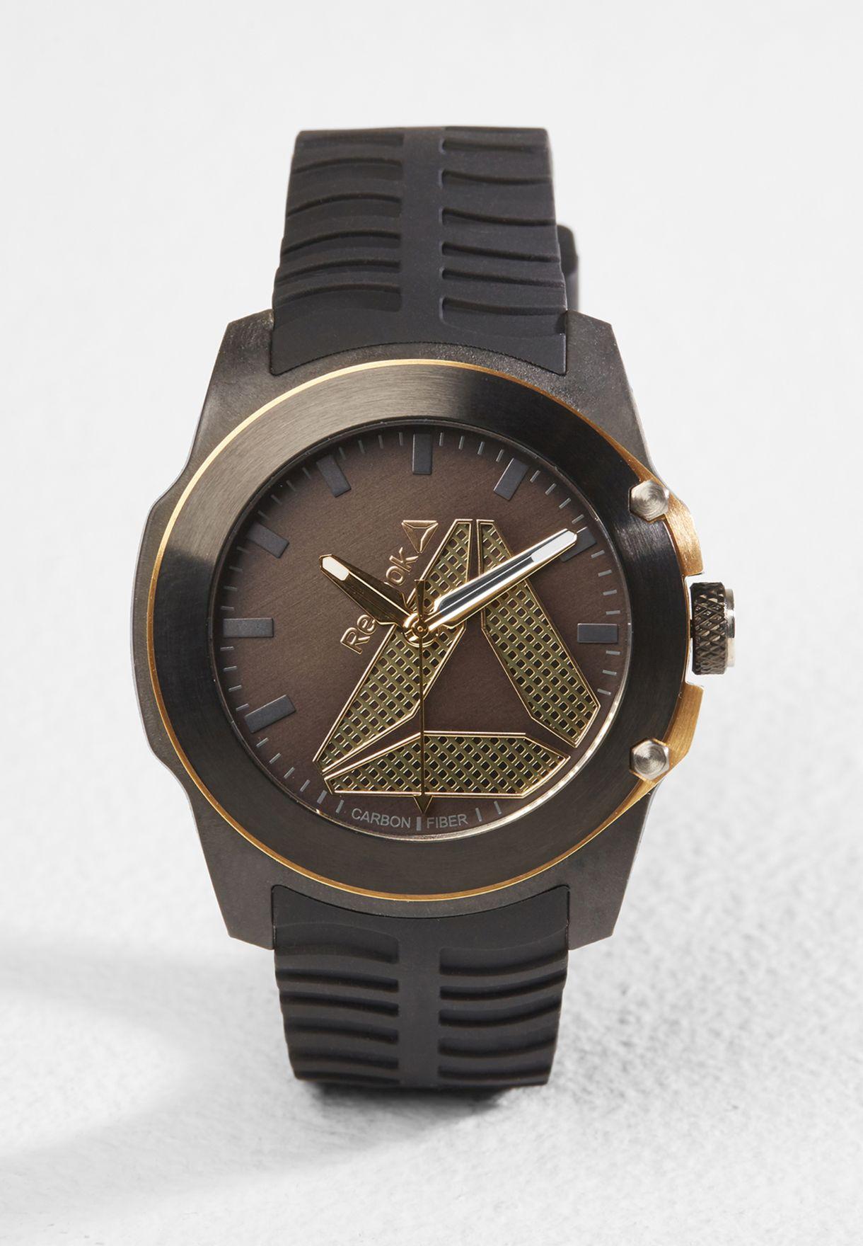 534e4fe2e Shop Reebok black Tireflip Watch RD-TFL-G2-CBIB-B2 for Men in Saudi ...