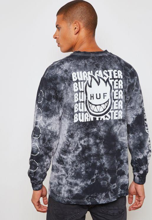 Spitfire Burn Faster T-Shirt