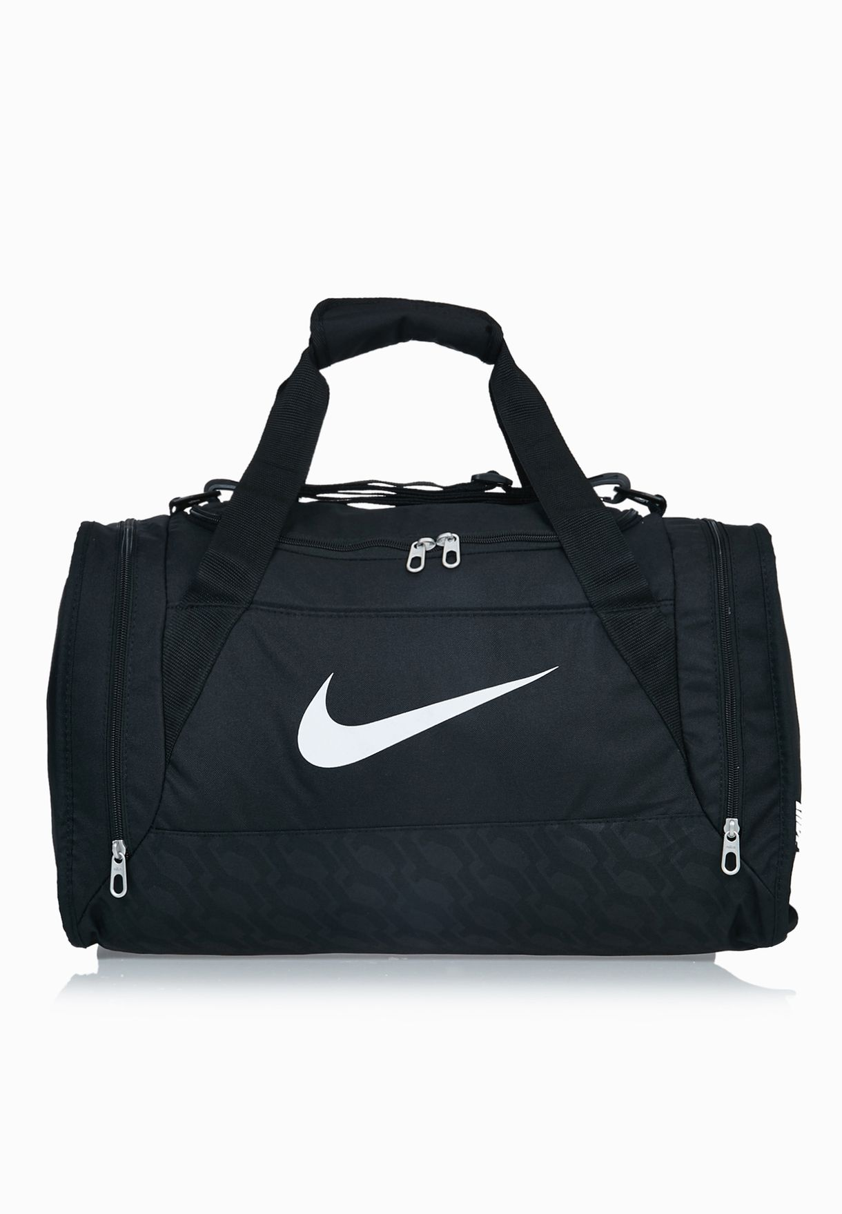 b4b1b95f624f Shop Nike black Small Brasilia Duffel Bag BA4831-001 for Men in Oman -  NI727AC77CCK