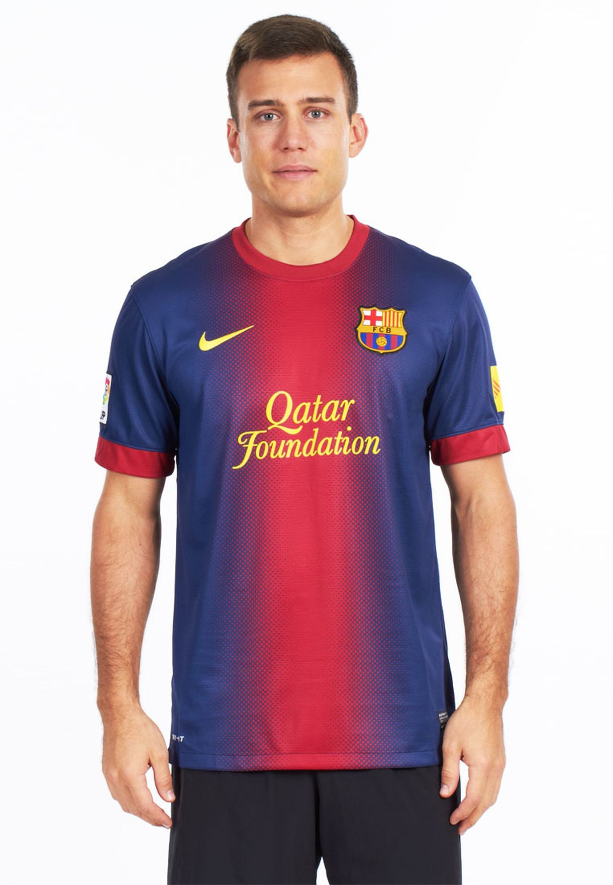 899ac712538 Shop Nike navy Fcb Home Jersey 477741-010 for Men in UAE - NI727AT77HJE