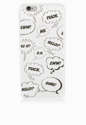 Funky Fish iPhone 6 Commix Bubble Mobile Cover