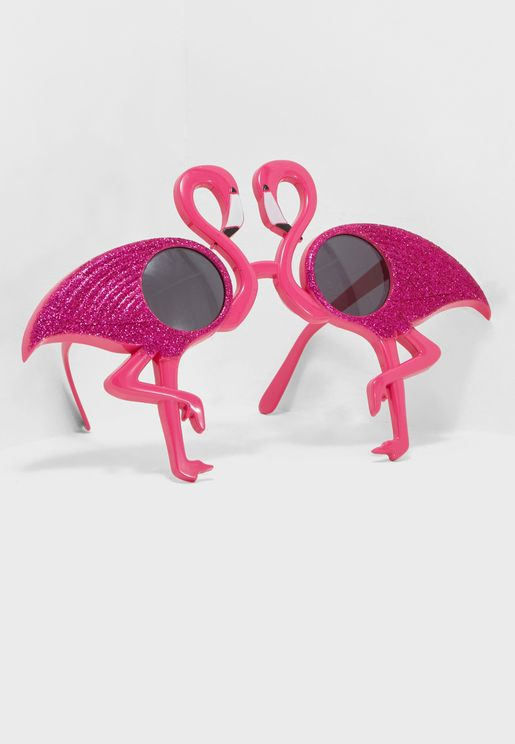 نظارات بشكل فلامينغو
