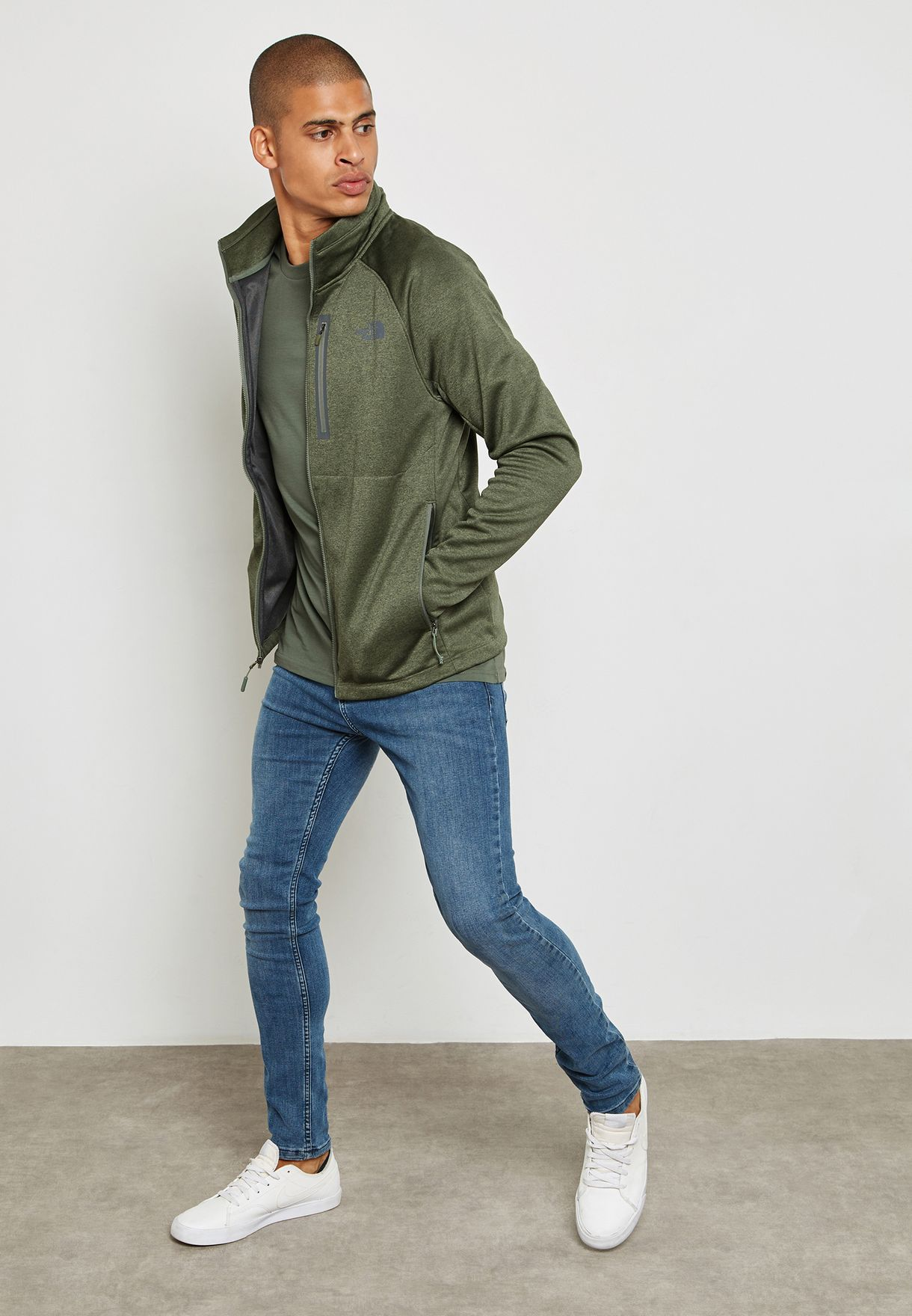 8321addd7708 Shop The North Face green Canyonlands Jacket NOT92ZVV-QCV for ...