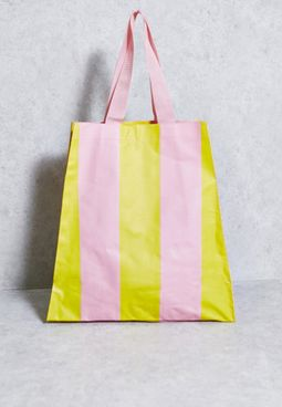 Beverly Striped Tote