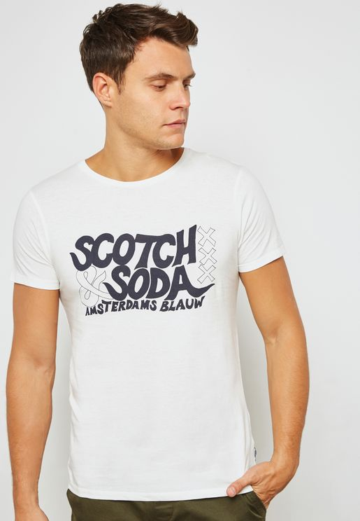 Logo Graphic Printed T-Shirt