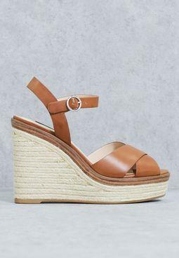 Jute Wedge Flatform Sandals