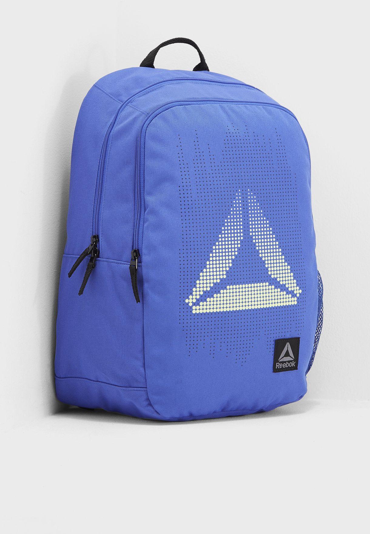 Shop Reebok blue Kids Foundation Backpack CE4272 for Kids in UAE ...