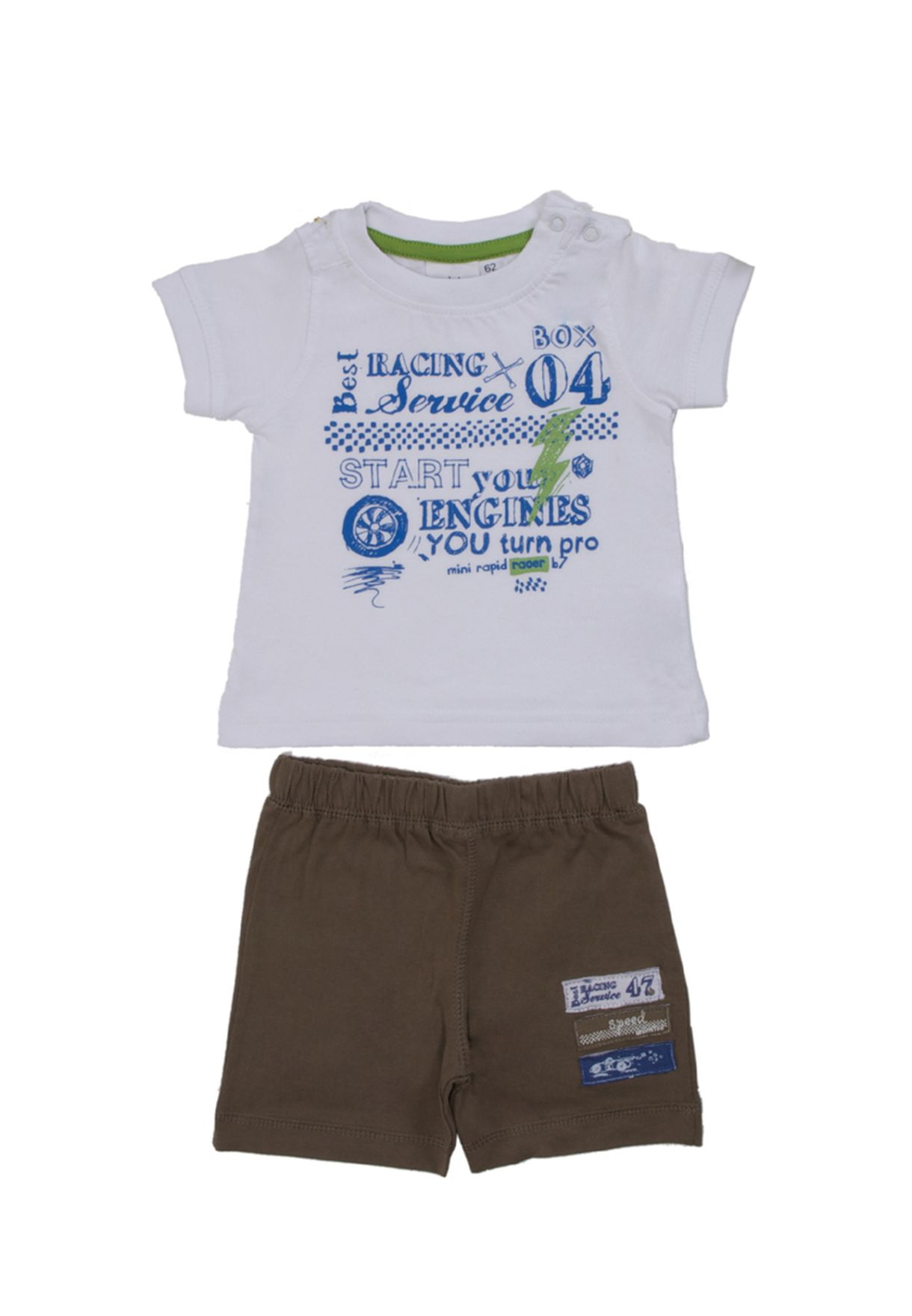 1ca5ca904 Shop Blue Seven white Printed 2 Piece Set for Kids in Bahrain ...