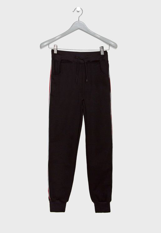 Kids Side Striped Sweatpants